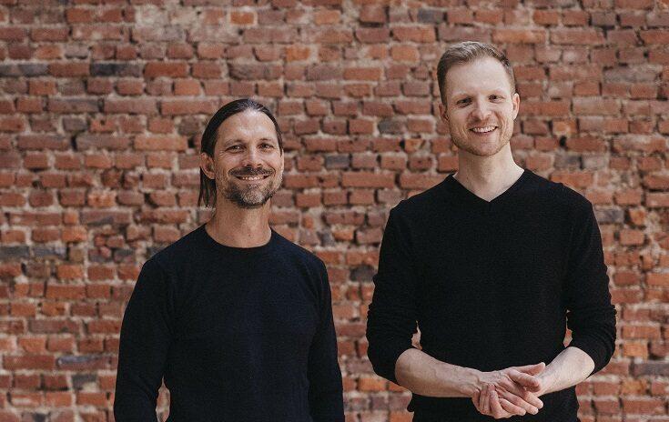 l.n.r.: Mitch Senf und Marcell Heinrich